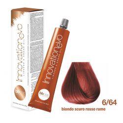 BBCOS- Vopsea de păr Innovation EVO (6/64- Biondo Scuro Rosso Rame)