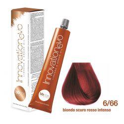 BBCOS- Vopsea de păr Innovation EVO (6/66- Biondo Scuro Rosso Intenso)