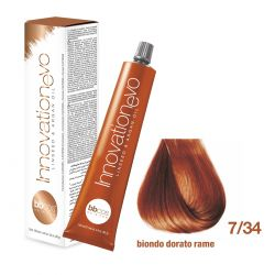 BBCOS- Vopsea de păr Innovation EVO (7/34- Biondo Dorato Rame)