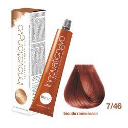 BBCOS- Vopsea de păr Innovation EVO (7/46- Biondo Rame Rosso)