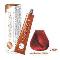 BBCOS- Vopsea de păr Innovation EVO (7/62- Biondo rosso Violetto)