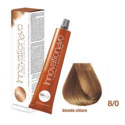BBCOS- Vopsea de păr Innovation EVO (8/0- Biondo Chiaro)