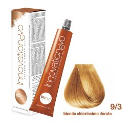 BBCOS- Vopsea de păr Innovation EVO (9/3- Biondo Chiarissimo Dorato)
