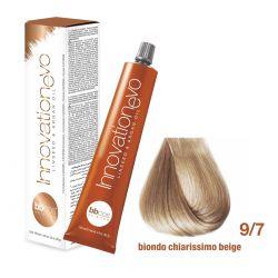 BBCOS- Vopsea de păr Innovation EVO (9/7- Biondo Chiarissimo Beige)