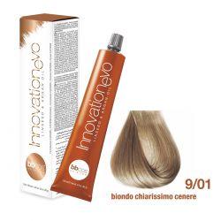 BBCOS- Vopsea de păr Innovation EVO (9/01- Biondo Chiarissimo Cenere)