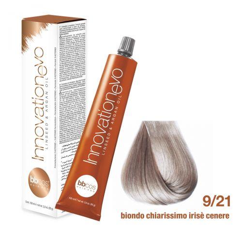 BBCOS- Vopsea de păr Innovation EVO (9/21- Biondo Chiarissimo Irise Cenere)