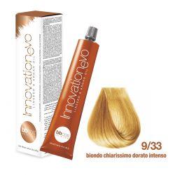 BBCOS- Vopsea de păr Innovation EVO (9/33- Biondo Chiarissimo Dorato Intenso)