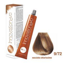 BBCOS- Vopsea de păr Innovation EVO (9/72- Nocciola Chiarissimo)