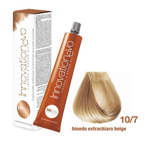 BBCOS- Vopsea de păr Innovation EVO (10/7- Lightest Beige Blond)