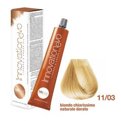 BBCOS- Vopsea de păr Innovation EVO (11/03- Biondo Chiarissimo Naturale Dorato)