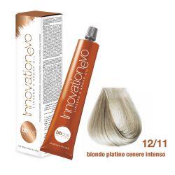 BBCOS- Vopsea de păr Innovation EVO (12/11- Biondo Platino Cenere Intenso)