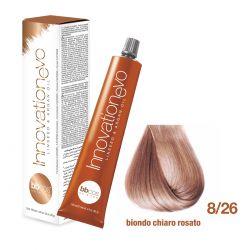 BBCOS- Vopsea de păr Innovation EVO (8/26- Biondo Chiaro Rosato)