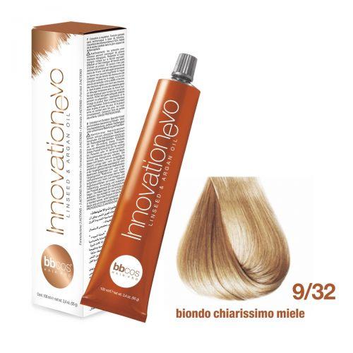 BBCOS- Vopsea de păr Innovation EVO (9/32- Biondo Chiarissimo Miele)