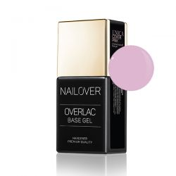 Nailover - Unica Base Gel - Cover Pink (15ml)
