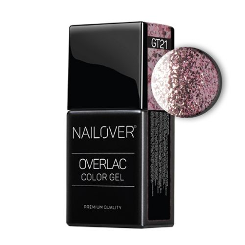 Nailover - Overlac Color Gel - GT21 (15ml)