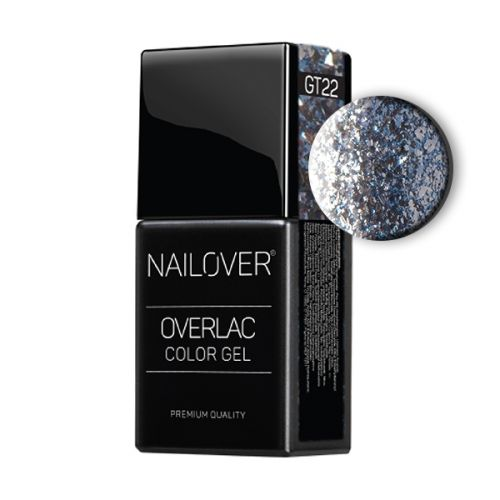 Nailover - Overlac Color Gel - GT22 (15ml)