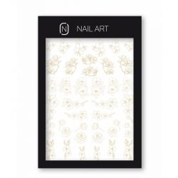 Nailover - Water Decal - 3 Beige