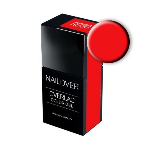 Nailover - Overlac Color Gel - RD30 (15ml)