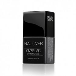 Nailover Velvet Touch – Gel de acoperire semi-mat