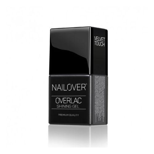Nailover Velvet Touch – Gel de acoperire semi-mat