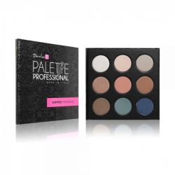 PaolaP Shimmer Palette - 9 culori