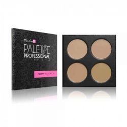 PaolaP Creamy Foundation Palette - 4 culori