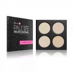 PaolaP Compact Powder Palette - 4 culori