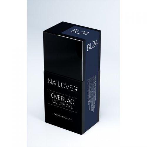 Nailover - Overlac Color Gel - BL24 (15ml)