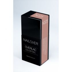 Nailover - Overlac Color Gel - ND25 (15ml)