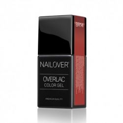 Nailover - Overlac Color Gel - BR14 (15ml)