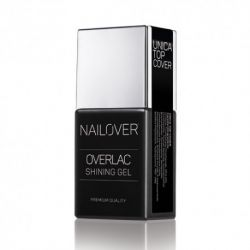 Nailover - Unica Top Cover - Overlac Shining Gel (15ml)