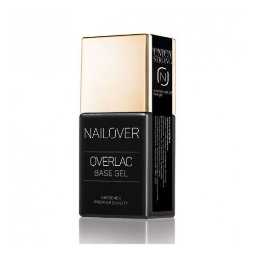 Nailover - Unica Base Stong - Gel de Baza Universal (15ml)
