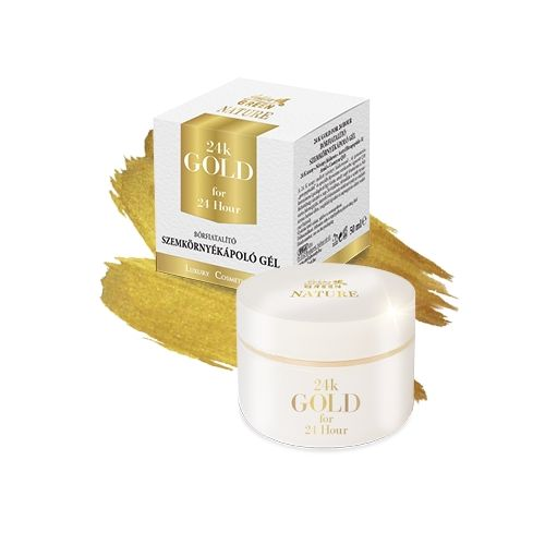Golden Green Nature 24K Gold - Gel contur ochi (50 ml)