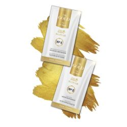 Golden Green Nature 24K Gold - Masca alginata 10gr + Ser activ 30 ml