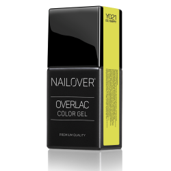 Nailover - Overlac Color Gel - YO21 (15ml)