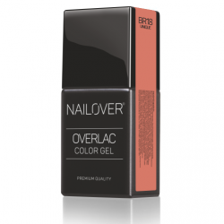 Nailover - Overlac Color Gel - BR18 (15ml)