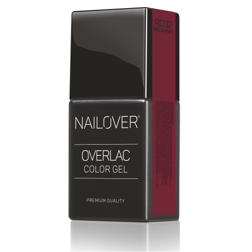 Nailover - Overlac Color Gel - RD32 (15ml)