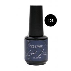 SoKwik - Gel Lac Black&White Collection 102 (15 ml)