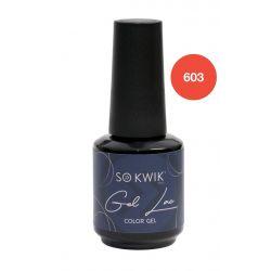 SoKwik - Gel Lac Yellow&Orange Collection 603 (15 ml)