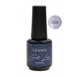 SoKwik - Gel Lac Glitter...