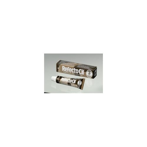 RefectoCil - Vopsea Gene Sprancene - Maro 3 (15ml)
