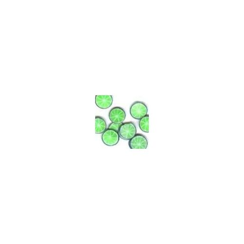 Crystal Nails - Ornamente Gumate - Lime (20buc/set)