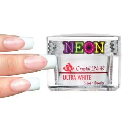 Crystal Nails - Slower Powder - Neon White (17g)
