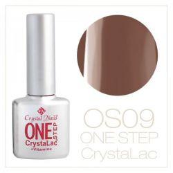 Crystal Nails- One Step CrystaLac- PLAMANIU 9 (8ml)