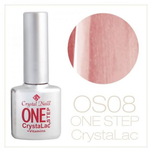 Crystal Nails- One Step CrystaLac- ROZ SIDEF 8 (8ml)