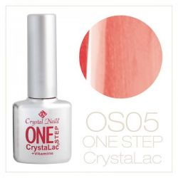 Crystal Nails- One Step CrystaLac-ROZ BONBON SIDEF 5 (8ml)