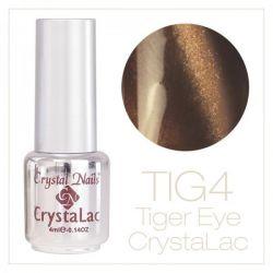 Crystal Nails - Tiger Eye CrystaLac - tig 4 (4ml)