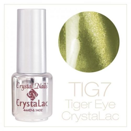 Crystal Nails - Tiger Eye CrystaLac - tig 7 (4ml)