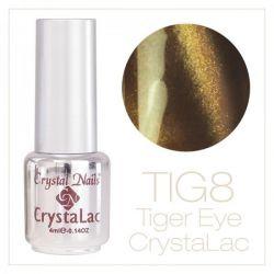 Crystal Nails - Tiger Eye CrystaLac - tig 8 (4ml)