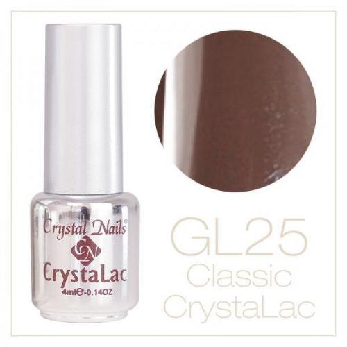 Crystal Nails - CrystaLac GL25 - Peanut 4ml